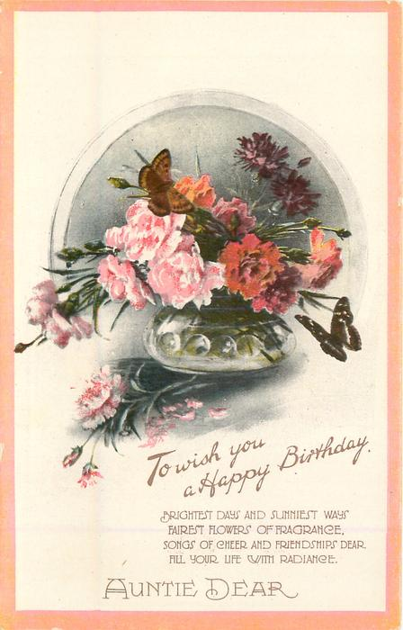 Happy Birthday Aunt Lynn Cake